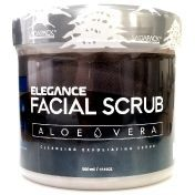Elegance Facial Scrub Aloe Vera Renovating - Скраб для лица Алое Вера Восстанавливающий 500 мл
