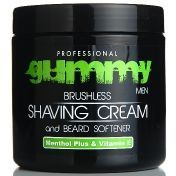 Gummy Shaving Cream Menthol Plus - Крем для бритья 500 мл