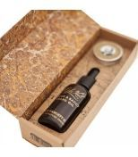 Captain Fawcett Ricki Hall Booze & Baccy Beard Oil & Moustache Wax Gift Set - Набор для бороды и усов