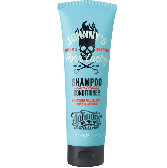 Johnny's Chop Shop Born Lucky 2 in 1 Shampoo - Шампунь 2 в 1 250 мл