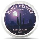 Manly Beard Oil-Mixture Night by night - масло-микстура для бороды ночной, 35 мл