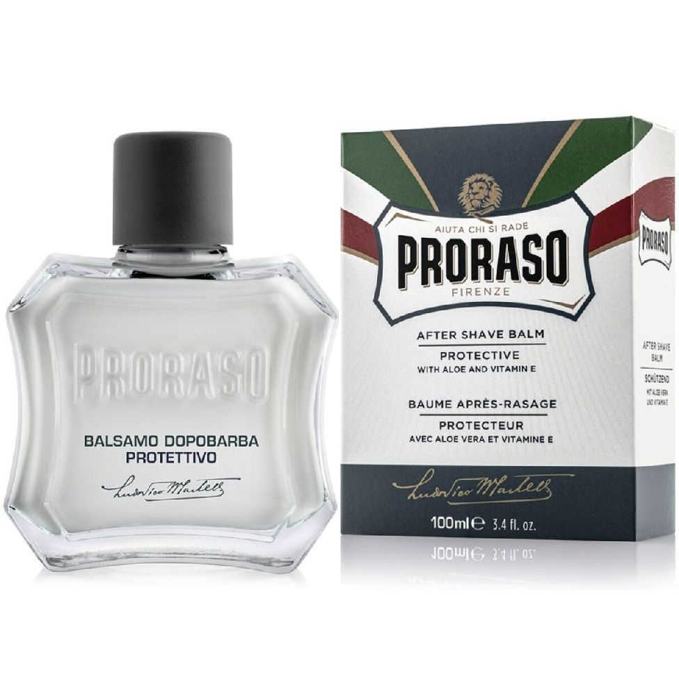 Proraso Protective Aloe After shave Balm - Бальзам после бритья Алое Вера и Витамин Е 100 мл