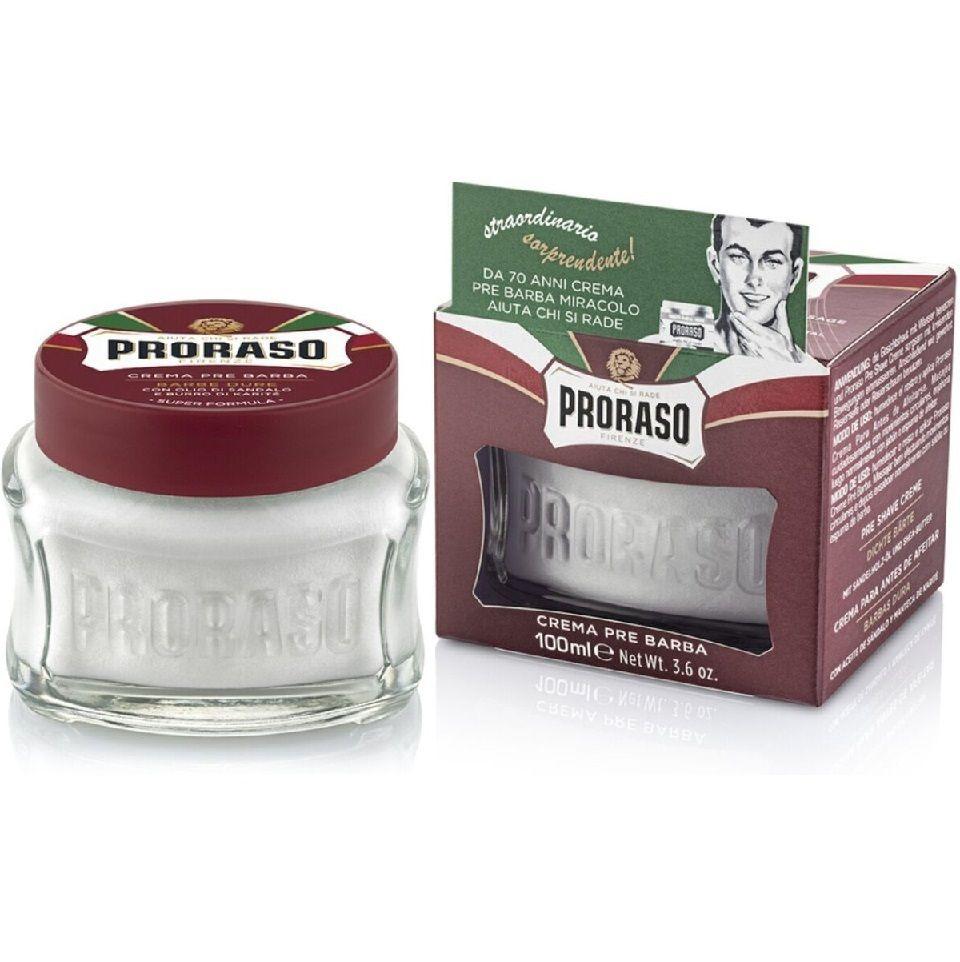 Proraso Nourish Sandalwood  Pre Shave Cream - Крем до бритья Сандал 100 мл