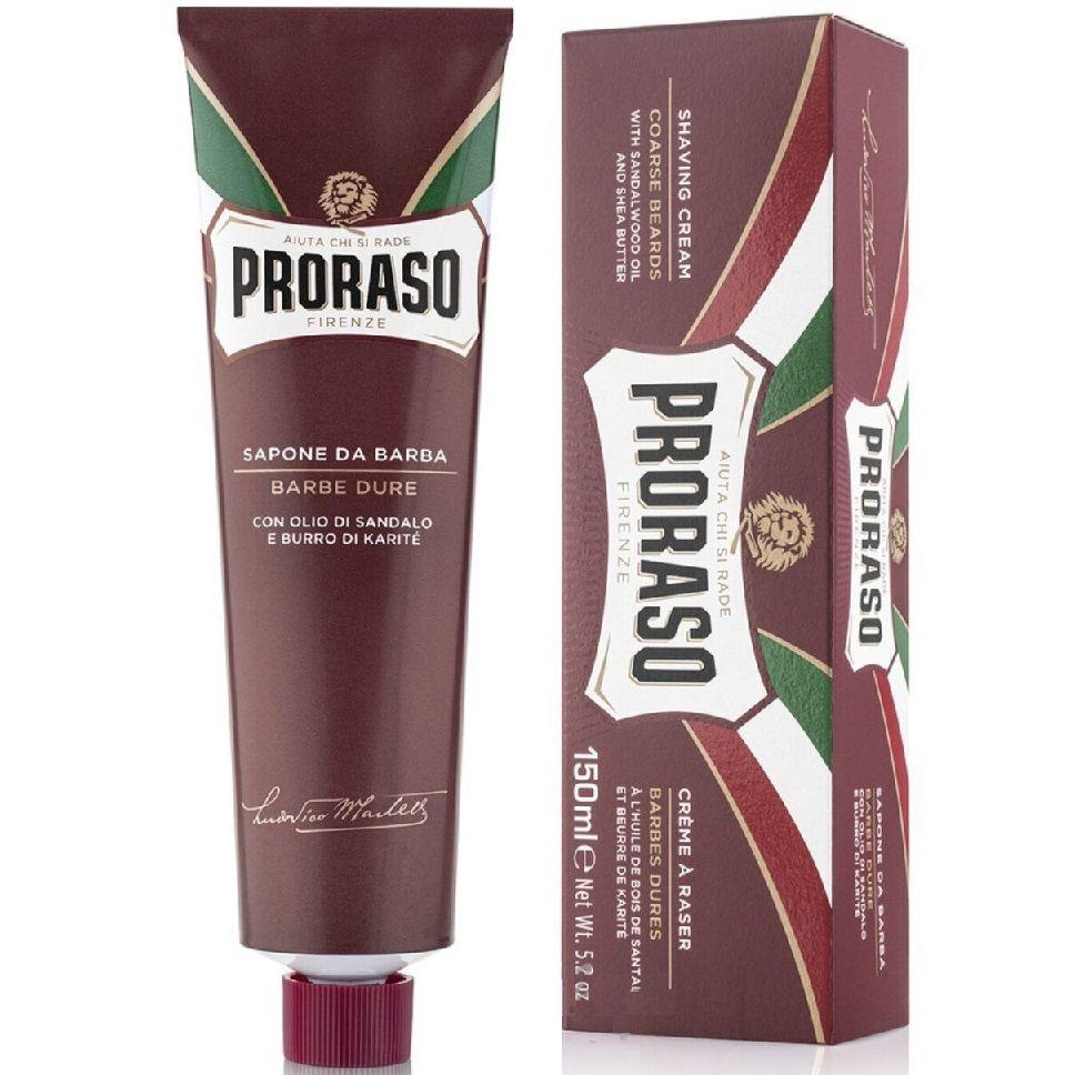 Proraso Nourish Sandalwood Shaving Cream Tube - Крем для бритья Сандал 150 мл