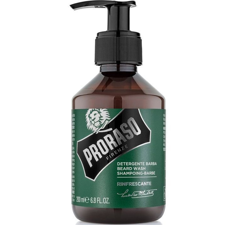 Proraso Refreshing Beard Wash - Шампунь для бороды 200 мл