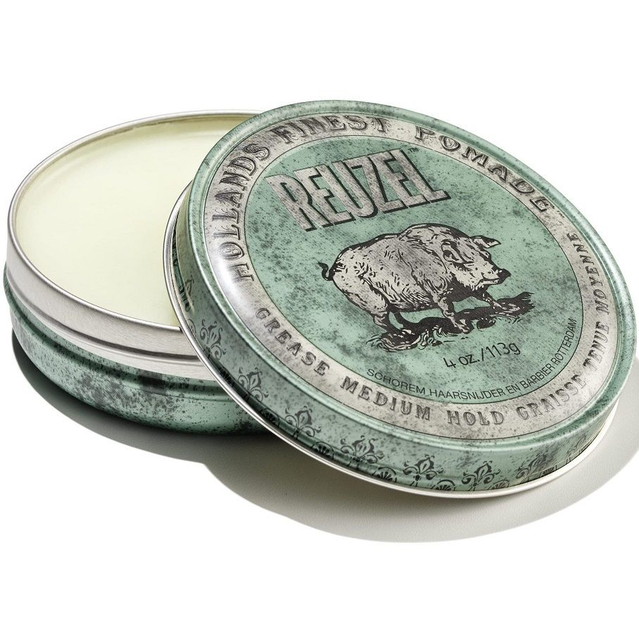 Reuzel Grease Medium Hold Pomade - Помада для укладки волос средней фиксации 113 гр