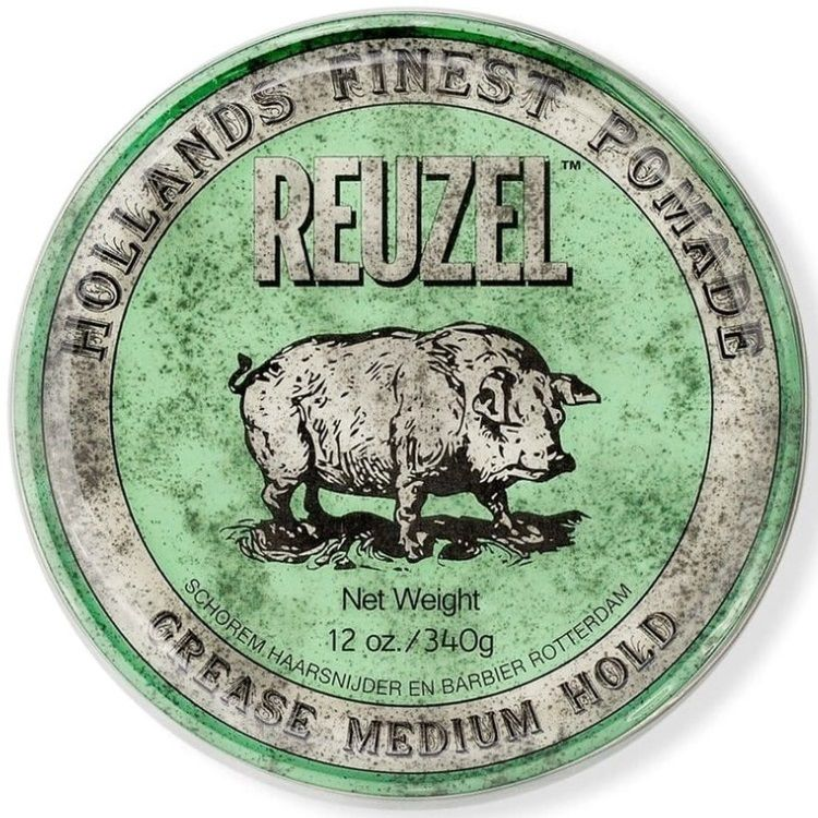 Reuzel Grease Medium Hold Pomade - Помада для укладки волос средней фиксации 340 гр