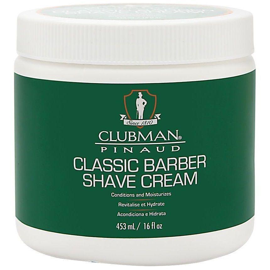 Clubman Classic Barber Shave Cream - Классический крем для бритья 453 мл - купить за 856 р. в Москве. Clubman Classic Barber Shave Cream - Классический крем для бритья 453 мл: цены в интернет-магазине BrandForMan, отзывы, продажа.