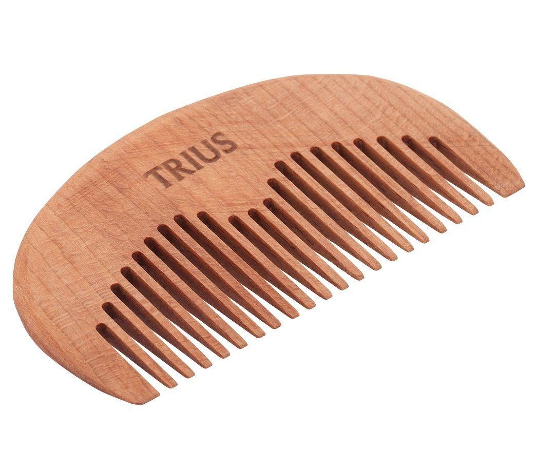 Trius Comb №4 - Гребень для бороды Темное дерево
