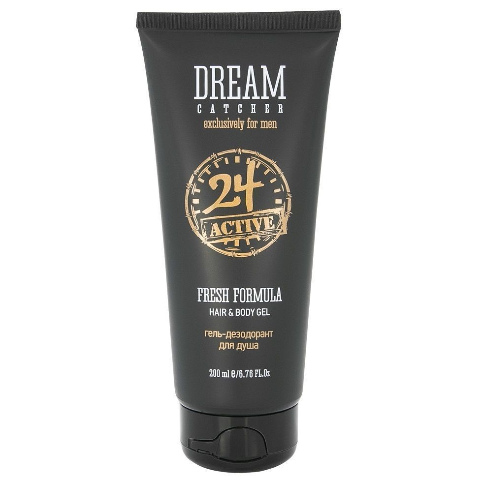 Dream Catcher Fresh Formula 24 Active Hair & Body - Дезодорант и гель для душа 200