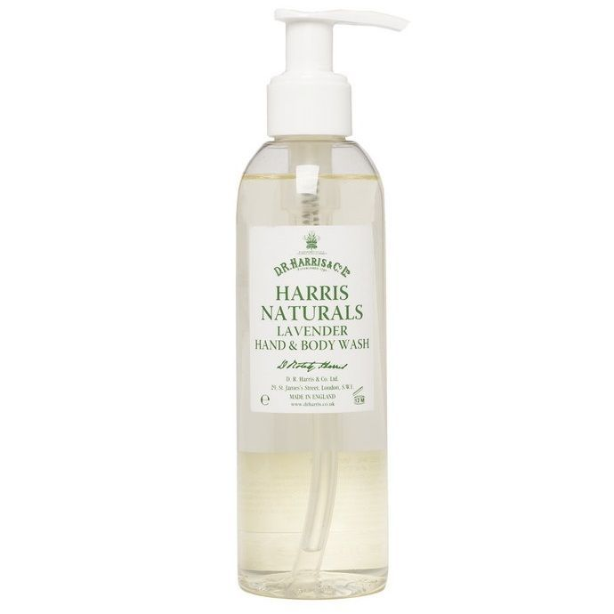 D. R. Harris Naturals Lavender Hand and Body Wash - Гель для рук и душа Лаванда 200 мл
