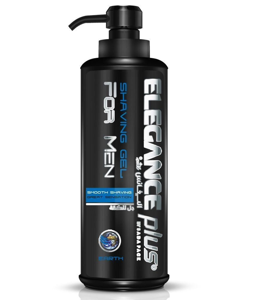 Elegance Plus Shaving Gel Earth - Гель для бритья 500 мл