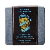Modern Pirate Activated Charcoal Soap - Мыло для лица и тела с древесным углем 110 гр
