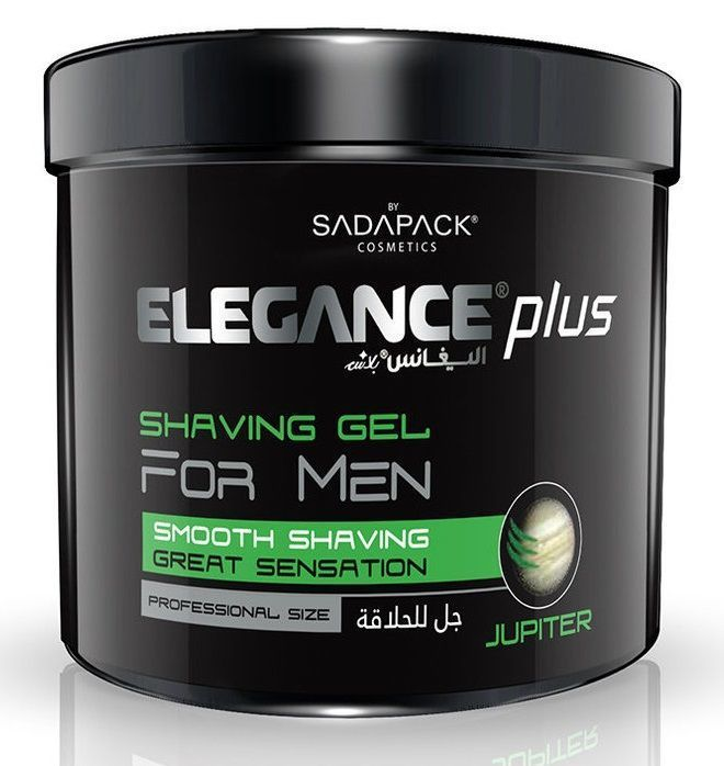 Elegance Plus Shaving Gel Jupiter - Гель для бритья 1000 мл